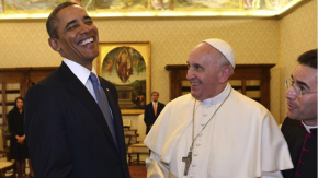 Rencontre Obama-Pape Francois