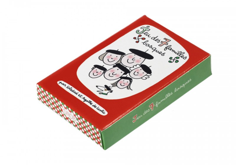 Paquet du jeu des 7 familles basques
