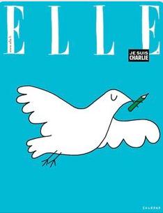 couverture Elle France par Soledad
