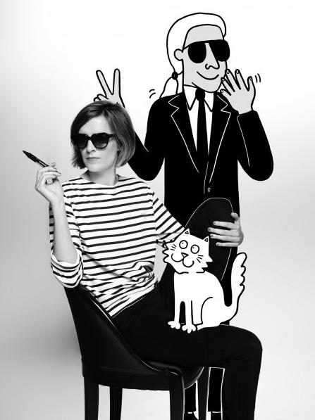 Tiffany Cooper par Karl Lagerfeld