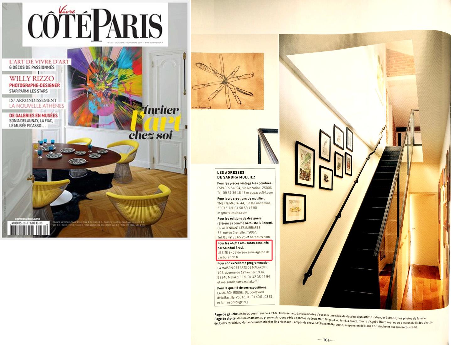 Article Côté Paris